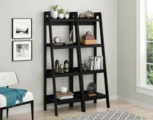 2 for 75 N ew ladder bookshelves for Sale in Dallas, TX