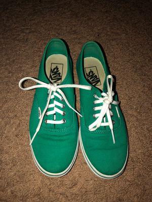 Teal/green Authentic Lo Pro Vans for Sale in San Antonio, TX