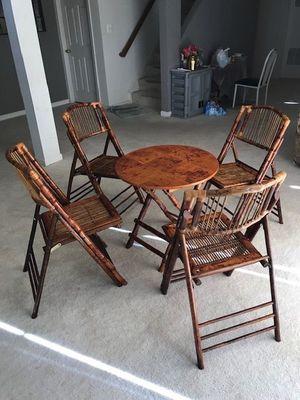 Bambo Table Set for Sale in Ashburn, VA