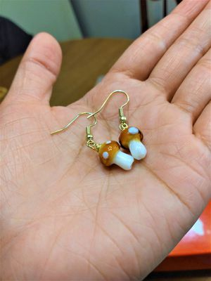 Tiny Cute mushroom Earring for girls for Sale in Peoria, IL