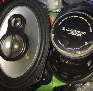 Lightning audio 6x9's for Sale in Elizabethton, TN