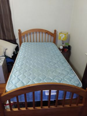 Twin size bed. Frame and Mattress for Sale in Seattle, WA