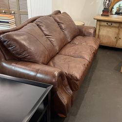 Viewpoint Leather Works Fold Out Sleeper Couch for Sale in Norcross,  GA