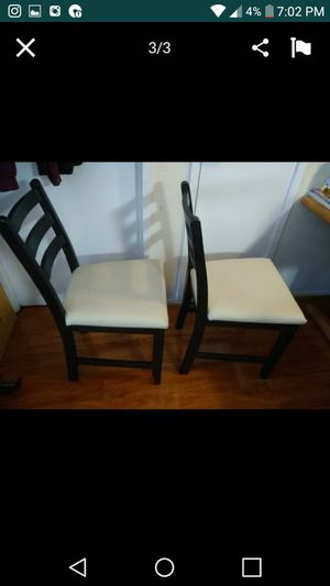 Sturdy chairs $20 for both for Sale in Forest Heights, MD