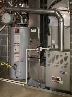 Water heater and furnace with AC for sale for Sale in Fairfax, VA