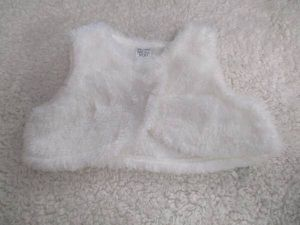 toddler furry vest valentines day carters 18 mos girl for Sale in Lake Forest, CA