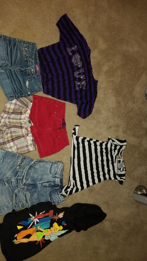 Girls size 8 shorts and top for Sale in Avondale, AZ