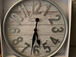 Wall art Clock Farmhouse 20 inches wide for Sale in Montgomery Village, MD