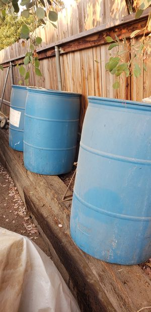 Plastic drums for Sale in Norco, CA