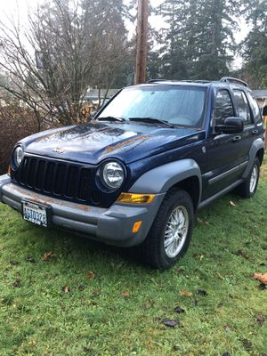 06 Jeep Liberty for Sale in Kent, WA