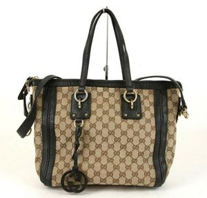 Gucci canvas bag Brown/Beige for Sale in OR, US