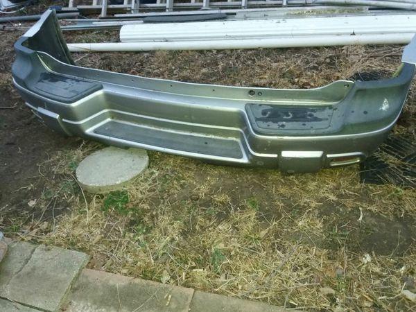 Rear bumper off 03 chevy trailblazer