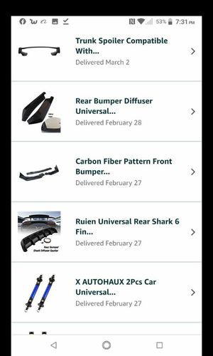 ORDERED FROM AMAZON!! CAR Body Kit / Lip Kit / Body Trim Parts & Accessories ! MAKE A OFFER! for Sale in Auburn, WA