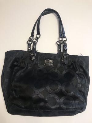 Black Coach tote bag handbag purse for Sale in Las Vegas, NV