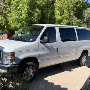 2011 White Ford Econoline 350 12 Passenger Van for Sale in Mesa, AZ