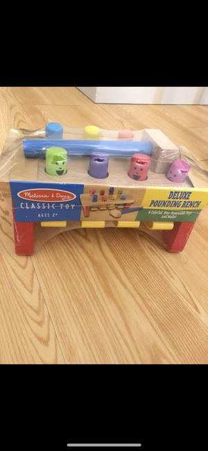 Melissa & Doug Deluxe Pounding Bench for Sale in Boston, MA