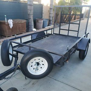 Trailer 2018 (5x8) Title In Hand.$1300.00 Firm for Sale in Chino, CA