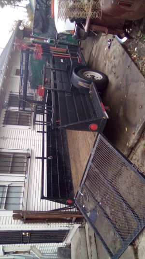 Landscaping trailer great condition it needs to get registered for Sale in Stockton, CA