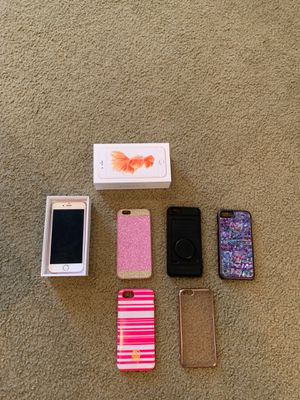 Unlocked Rose Gold iPhone 6s+Cases for Sale in Duvall, WA