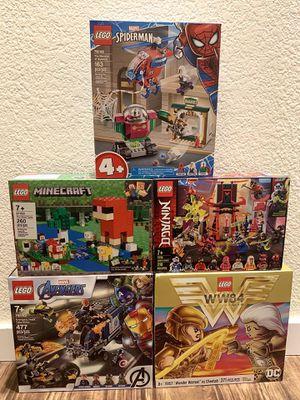BUNDLE DEAL ON LEGOS for Sale in Bellevue, WA