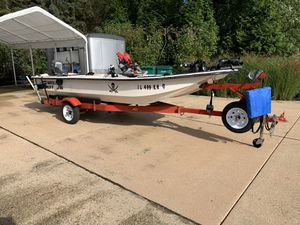 Carolina skiff j16 with 25 hp Johnson motor for Sale in St. Charles, IL