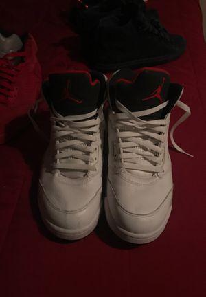 Air Jordan 5 Retro 'White Cement' for Sale in Clayton, MO