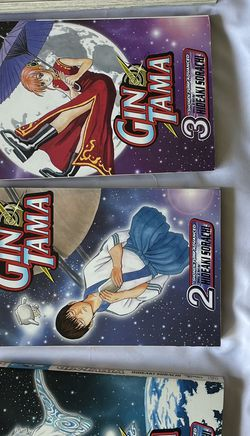 Gintama Volumes 2 And 4 (Custom Order) for Sale in Fair Oaks,  CA