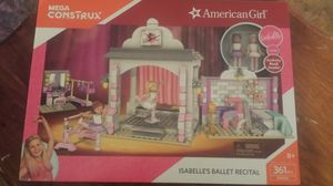 American Girl Isabell Ballet Lego Set-unopened for Sale in Las Vegas, NV