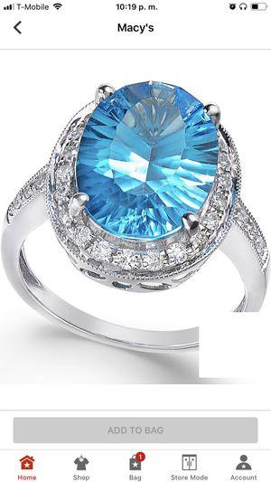 Blue topaz size 8 for Sale in Sterling, VA