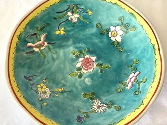Vintage Turquoise Cherry Blossom Dish for Sale in Signal Hill,  CA