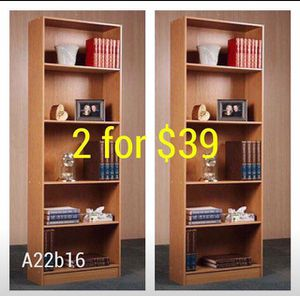 A22b16 set of 2 bookshelves for Sale in Dallas, TX
