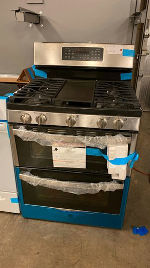 New! Stainless Steel Double Oven Gas Range with Griddle! 1 Year Manufacturer Warranty for Sale in Chandler, AZ