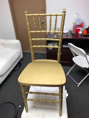 Used charivi chairs for sale for Sale in Miami, FL