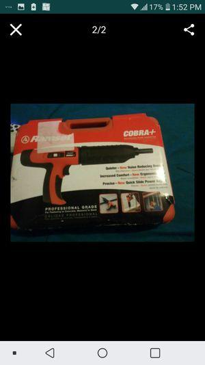 Ramset Cobra plus Nail Gun for Sale in Stockton, CA