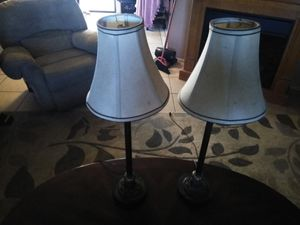 Two lamps for Sale in Port Richey, FL