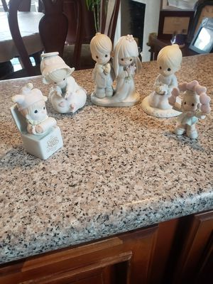 5 figuras de precious moments for Sale in Fremont, CA