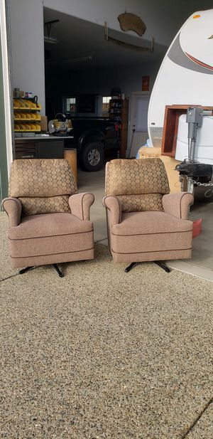 Cloth Swivel Rockers for Sale in White City, OR