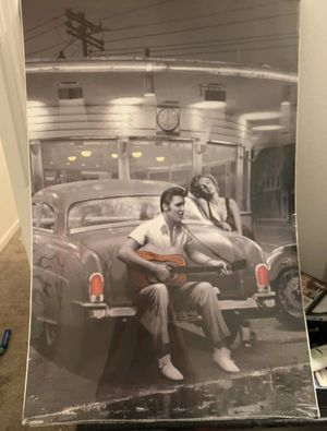 Elvis and Marilyn Monroe Poster for Sale in Manistee, MI