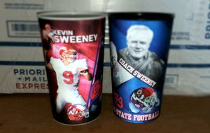 2 Pepsi Fresno State Holographic Cups for Sale in Clovis, CA