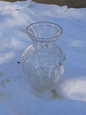 Oval Flower Glass Vase for Sale in Houston, TX