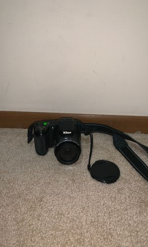 Nikon Coolpix L320 16.1MP Digital Camera with 26x Optical Zoom - BLACK for Sale in Cuyahoga Falls, OH