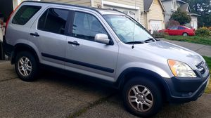 2003 Honda CRV -AWD- (EX) Sunroof-Silver Metallic-**AUTO** Spare Tire w/Cover, Runs & Drives Great! CLEAN TITLE for Sale in Kent, WA