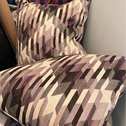Large Purple Couch Pillows For Sale for Sale in Farmington Hills,  MI