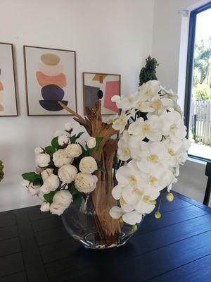 Artificial orchids arrangement for Sale in Homestead, FL
