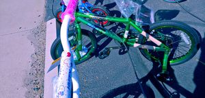 Electric green 20 inch bicycle new $65 for Sale in Phoenix, AZ