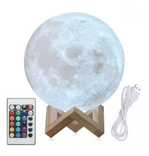 3d Moon Lamp brand new shipping only for Sale in Wichita, KS