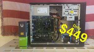 I5/gtx 1650/8GB gaming PC 144fps for Sale in San Antonio, TX