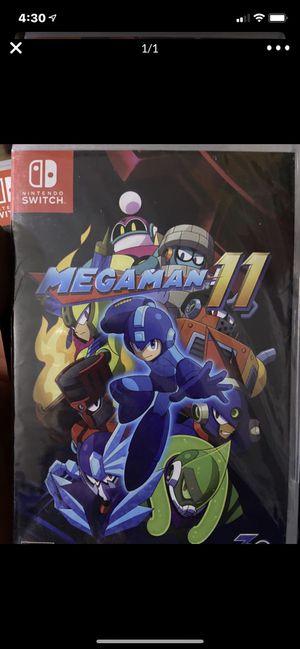 Nintendo switch mega man 11 for Sale in Murrieta, CA
