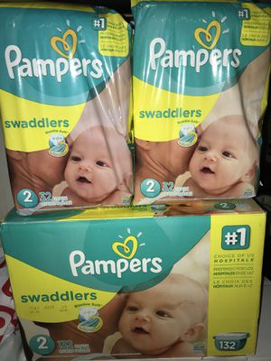 Pampers size 2 for Sale in Kent, WA