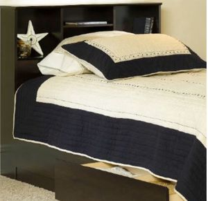 New!! Twin Storage Bed,Bed,Bookcase Headboard, Furniture, Bedroom,Platform Bed,Headboard,-TWIN SIZE for Sale in Phoenix, AZ